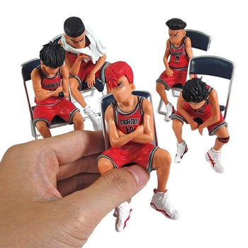 Ensemble 5 Figurines Slam Dunk