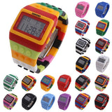 Montre Digitale LED Lego Chic Unisexe - Enjouet