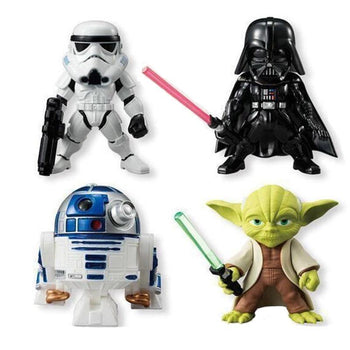 Ensemble 4/5 Figurines Star Wars