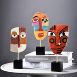 Figurines Décoratives Visages en résine Art Picasso