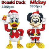 Figurines Lego Mickey Mouse et Donald Duck - Enjouet