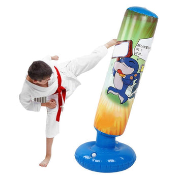 Anti Stress Kids Inflatable Punching Bag