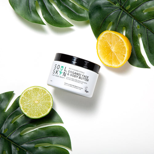 Refreshing Citrus Organic Face & Body Butter