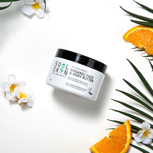 Tropical Orange Organic Face & Body Butter