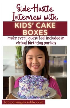 Kids' Cake Boxes printed interview from December 2020. Kids' Cake Boxes DIY cake baking kits are fun for an afternoon of quality family time together.