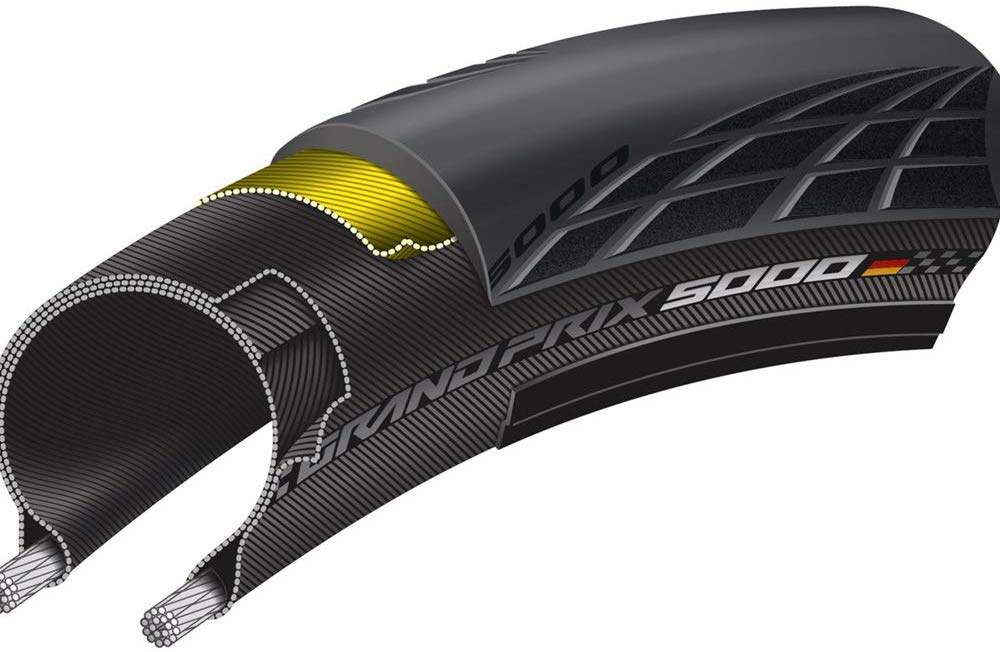 Continental Grand Prix 5000 Clincher Tire - 700C