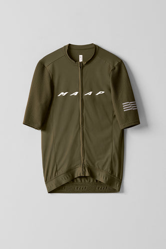 MAAP Evade Pro Base Jersey - Olive - Enroute.cc