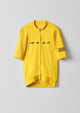 MAAP Evade Pro Base Jersey - Maize - Enroute.cc