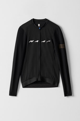 MAAP Evade Pro Base LS Jersey - Black - Enroute.cc
