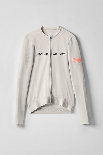 MAAP Evade Pro Base LS Jersey - Fog - Enroute.cc