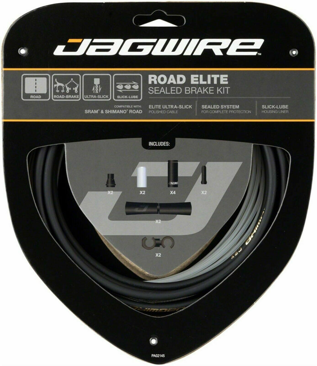 Jagwire Road Elite Sealed Brake Kit - Black