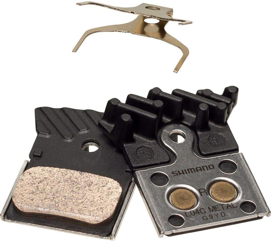 Shimano L04C Metallic Disc Brake Pads Metallic - Enroute.cc