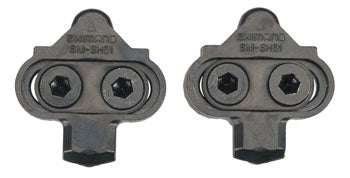 Shimano SM-SH51 Cleat Assembly, Pair, No Cleat Nuts