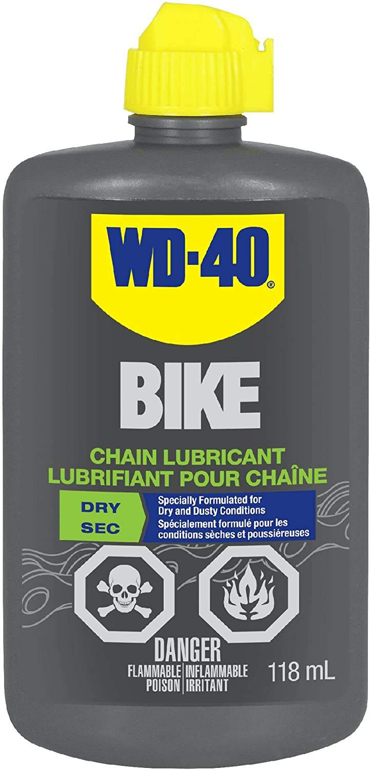 WD-40 Bike, Dry, Chain lubricant, 118ml