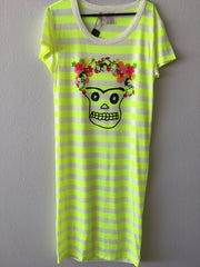 skully t-shirt dress
