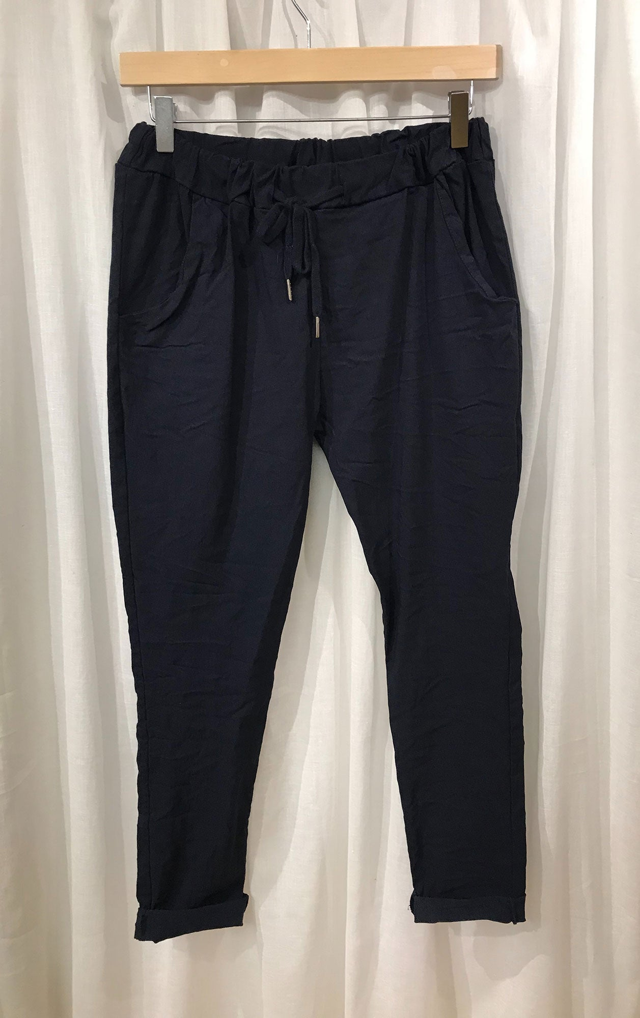 Magic Trousers - Navy Blue