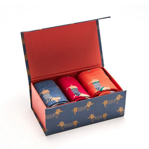 Bamboo Socks in Boxes - Mr Heron - Parisian Pups