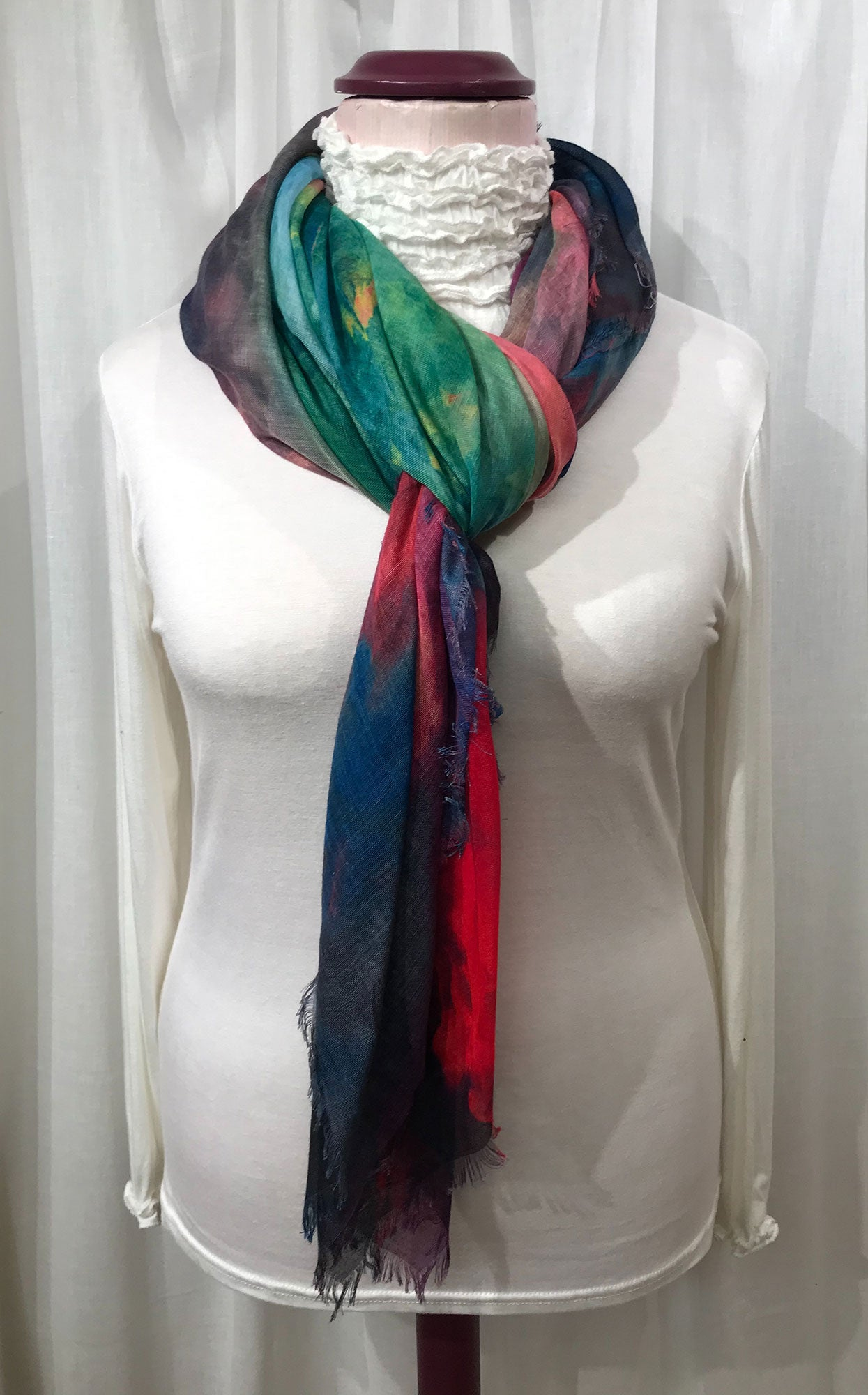 Rainbow Cloud Scarf