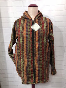 Reading Jacket with paisley stripes - 04