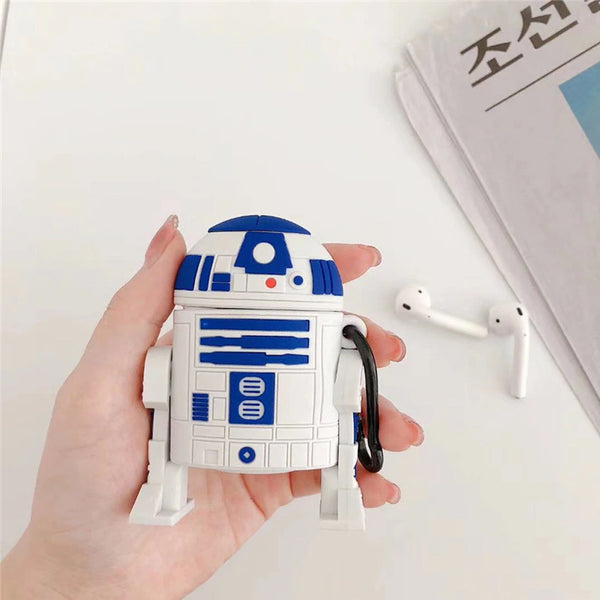 R2D2 Droid [Star Wars] - AirPods Case Sleeves [1/2 Gen]
