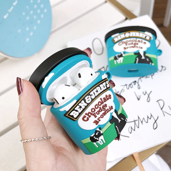 Ben & Jerry's Ice cream  - AirPods Case Sleeve [1/2 Gen]