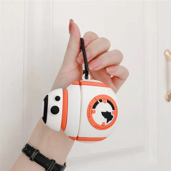 BB-8 Droid [Star Wars] - AirPods Case Sleeves [1/2 Gen]