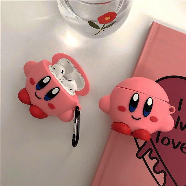 Dark Kirby [Super Smash Bros] - AirPods Case Sleeves [1/2 Gen]