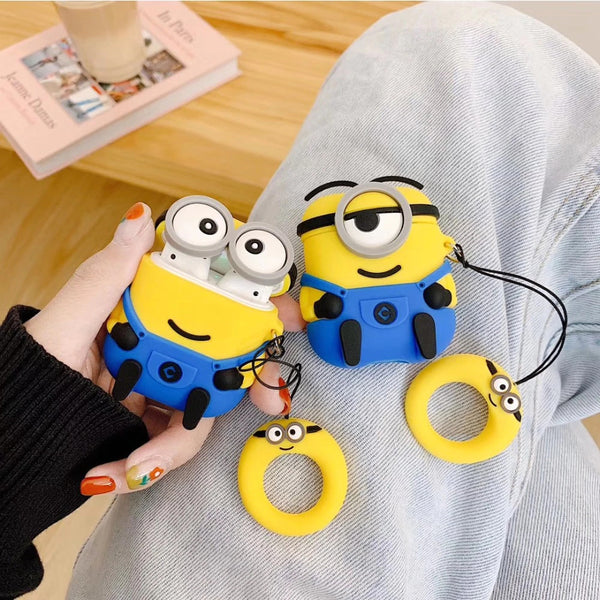 Minions Set [Despicable Me] - AirPods Case Sleeves [1/2 Gen]