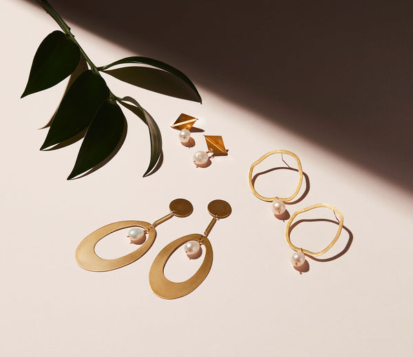 STILL LIFE | MoonRox FW20 - Clio, Revival and Noble Stud Earrings