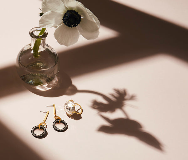 STILL LIFE | MoonRox FW20 - Night Sky Stud Earrings and Bright Star Ring