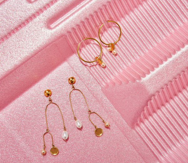 MoonRox SS19 - Reef Mobile Stud Earrings and Reef Hoop Earrings