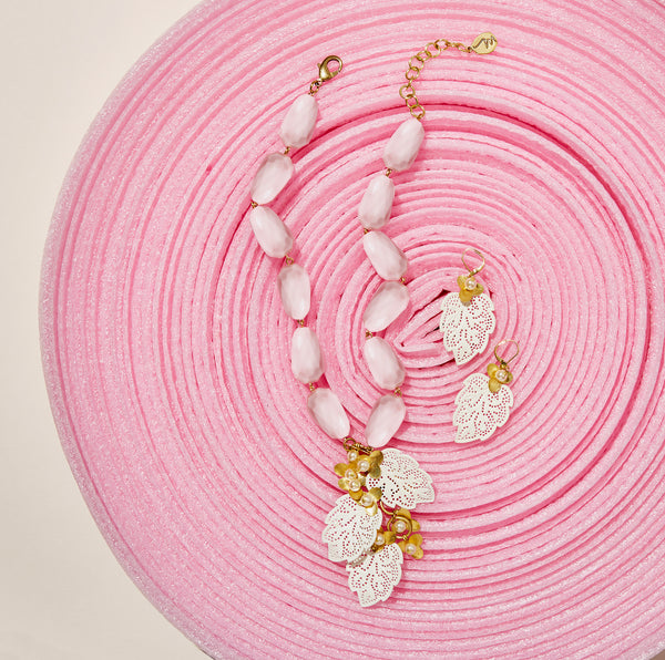 MoonRox SS19 - Secret Garden Necklace and Earrings