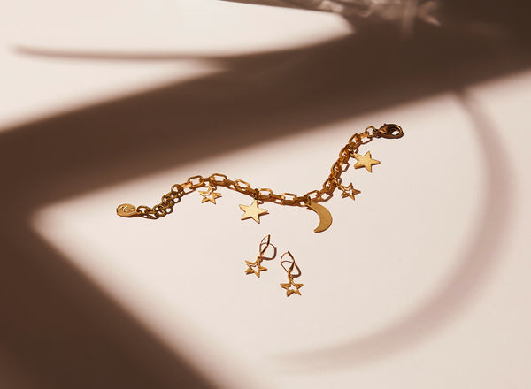 STILL LIFE | MoonRox FW20 - Starry Night Bracelet and Stars Earrings