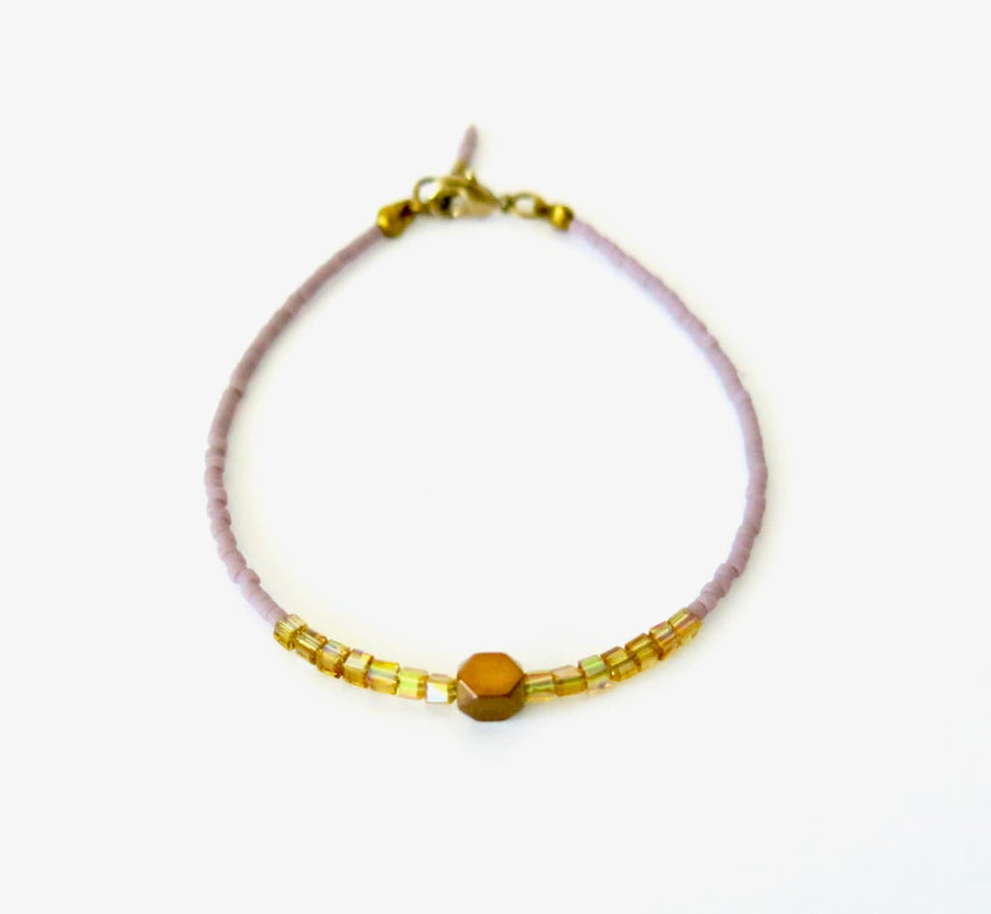 Breezy Bracelet by MoonRox Jewellery & Accessories - delicate beaded bracelet