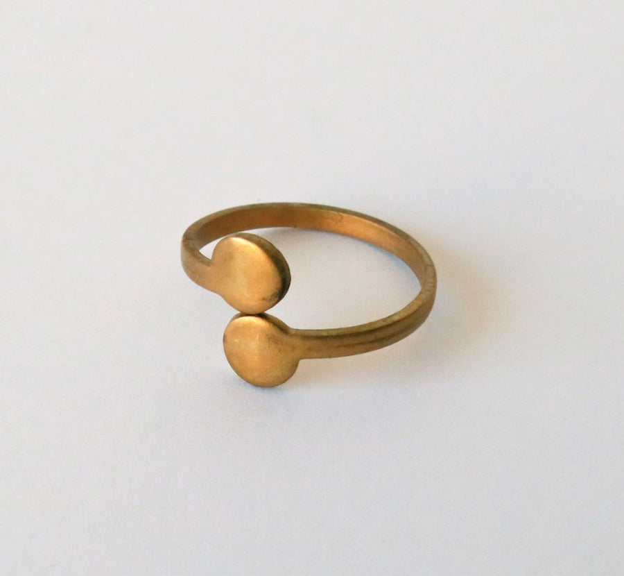 Arc Ring from MoonRox Jewellery & Accessories - this curated vintage ring is adjustable pin size