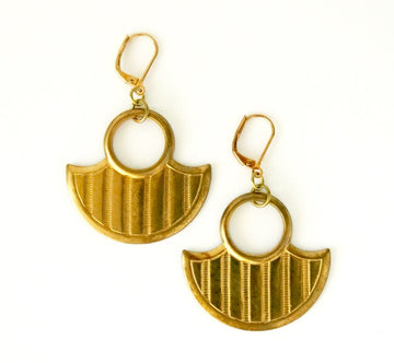 Warrior Earrings are sharp weapon shaped charm earrings.