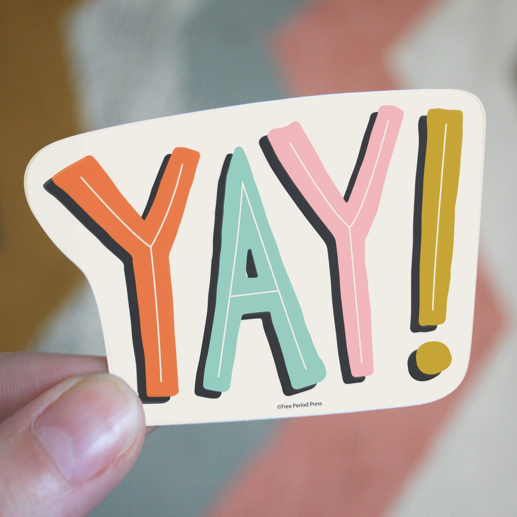 YAY! Sticker