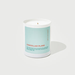 Cancelled Plans Candle