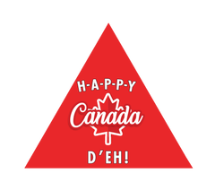 Canada Day Personalized Candy Gift Set