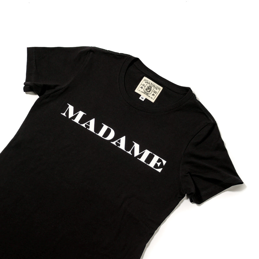 MADAME Short-Sleeve | Black