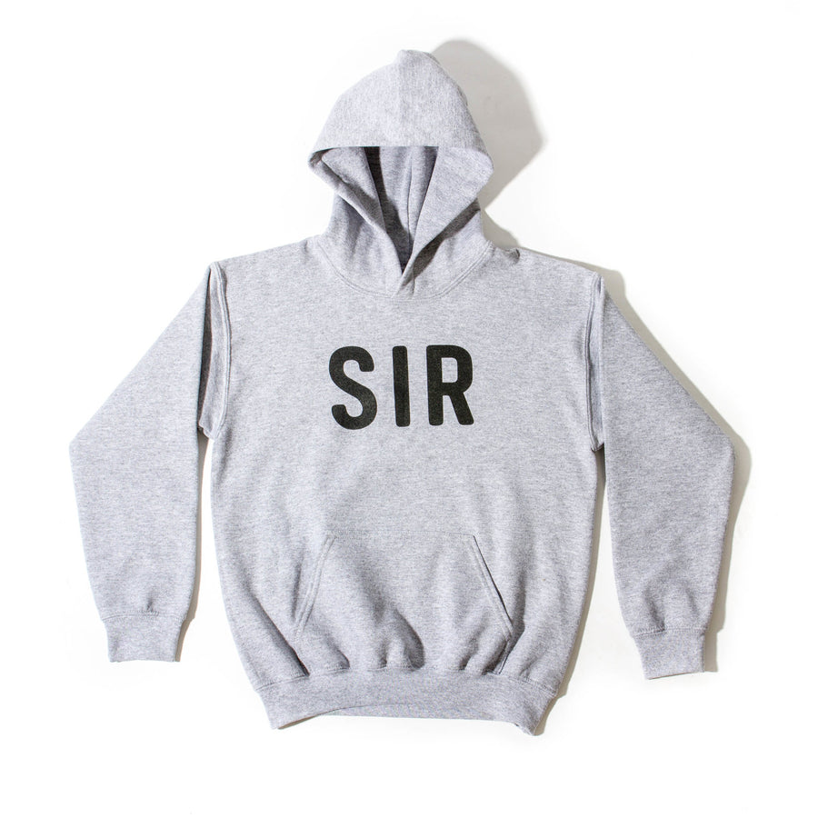Kids SIR Pullover | Gray