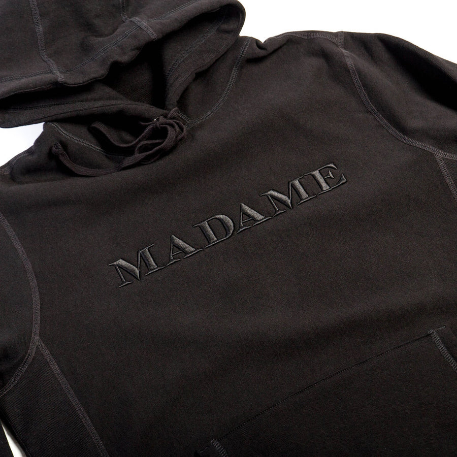 MADAME Pullover | Black Embroidery