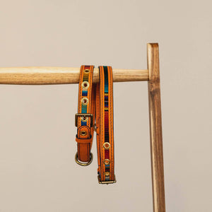 Tikal • Dog collar • Orange - Hunch Clothes