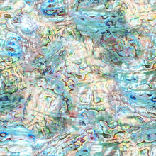 Load image into Gallery viewer, Nature's Narratives, Coastal Calm, Opal - Digitally printed, Hoffman, 100% cotton quilting fabric