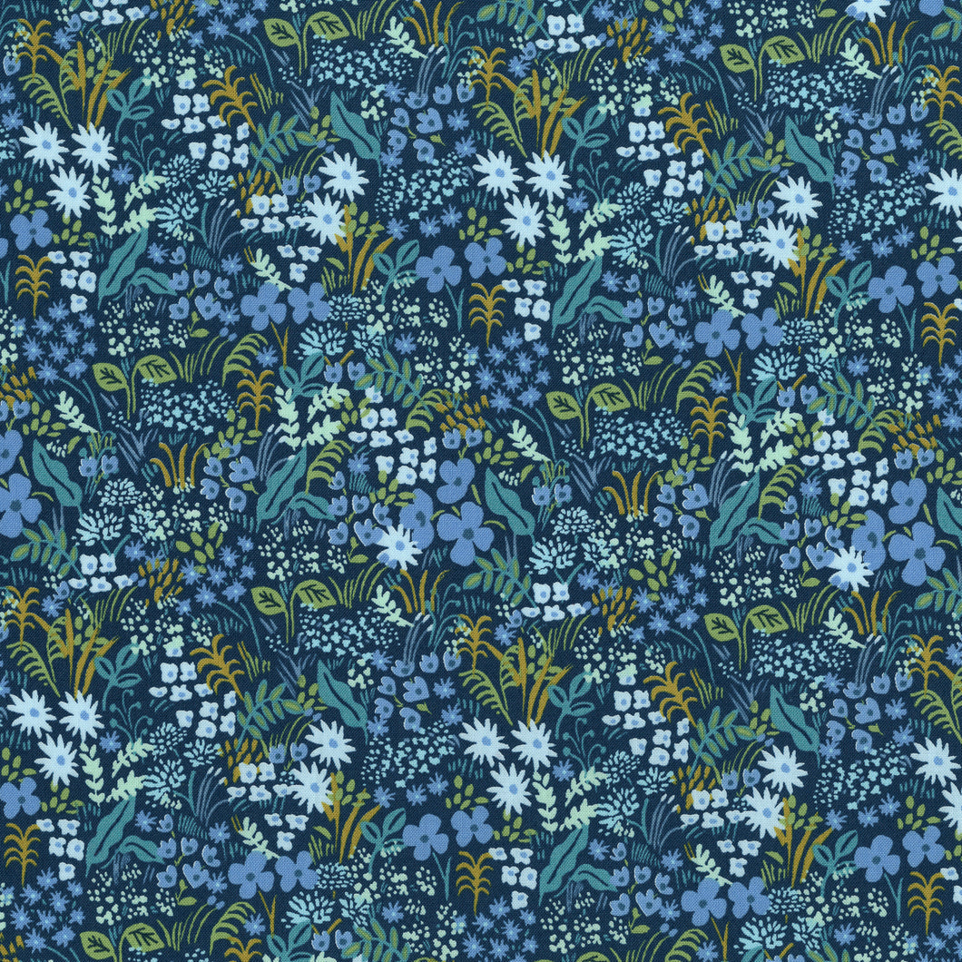 Rifle Paper Co., English Garden, Meadow, Blue, .25 to .5