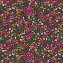 "Load image into Gallery viewer, Art Gallery Fabric, The Flower Society, Striking Garenista, photo = 8"" square - 100% cotton quilting fabric"