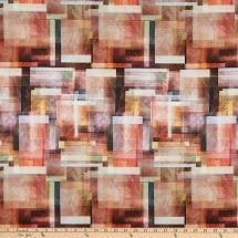 Load image into Gallery viewer, Bohemian Blends, Paprika - Digitally printed, Hoffman, 100% cotton quilting fabric