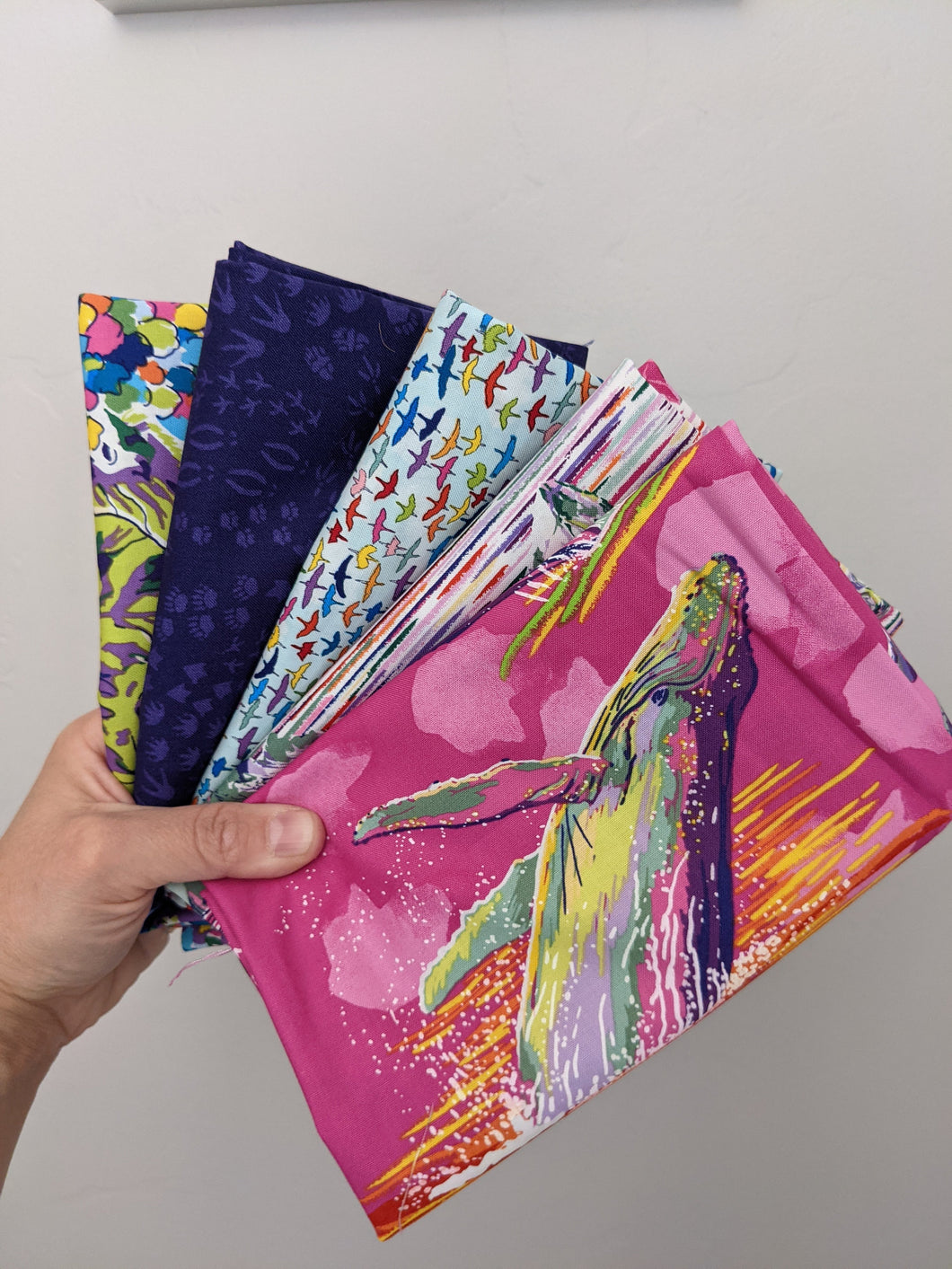 5 Fabric Bundle - Migration by Lorraine Turner - You Choose the Size