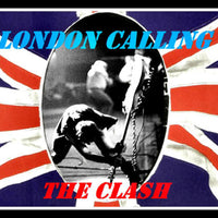 The Clash London Calling Poster Fridge Magnet 6x8 Large