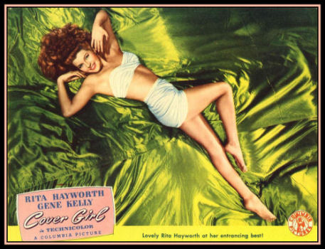 Cover Girl Rita Hayworth Movie Poster